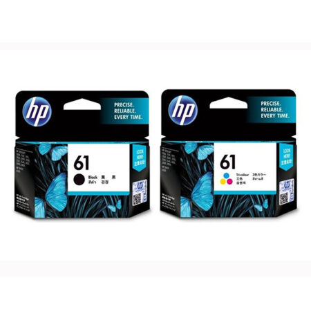 Bộ mực in HP 61 đen & màu – Cho máy HP DeskJet 1000/ 1010/ 1510/ 2000/ 1050/ 2050
