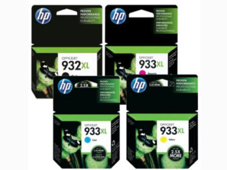 Bộ mực in 4 màu HP 932/933 – Cho máy HP OfficeJet 7110/ 7610/ 7612