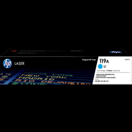 Hộp mực màu HP 119A (xanh) – Cho máy HP Color Laser 150a/ 150nw/ 178nw/ 179fnw