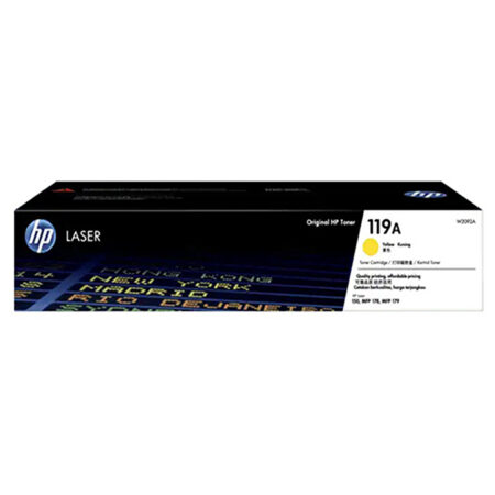 Hộp mực màu HP 119A (vàng) – Cho máy HP Color Laser 150a/ 150nw/ 178nw/ 179fnw