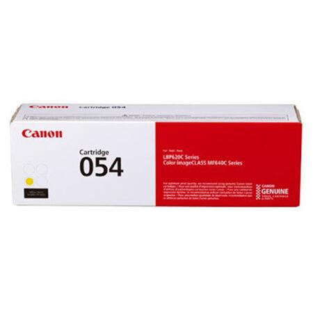 Hộp mực in màu Canon 054Y (vàng) – Cho máy LBP 621Cw/ 623Cdw/ MF641Cw/ 643Cdw/ 645Cx