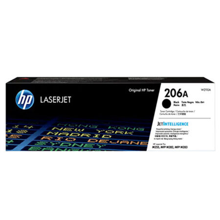 Hộp mực màu HP 206A (đen) – Cho máy HP Color Laser M255nw/ M255dw/ M283fdn/ M283fdw