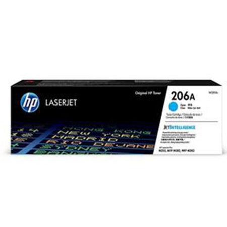 Hộp mực màu HP 206A (xanh) – Cho máy HP Color Laser M255nw/ M255dw/ M283fdn/ M283fdw