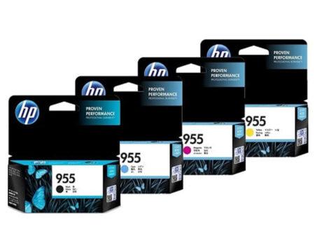 Bộ mực in 4 màu HP 955 – Cho máy HP OfficeJet 8210/ 8710/ 8720/ 8730