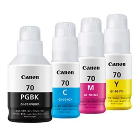 Bộ mực in 4 màu Canon GI-70 cho máy Canon G5070/ G6070