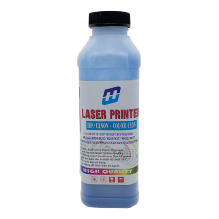 Mực đổ màu xanh cho máy in laser màu HP (65g)