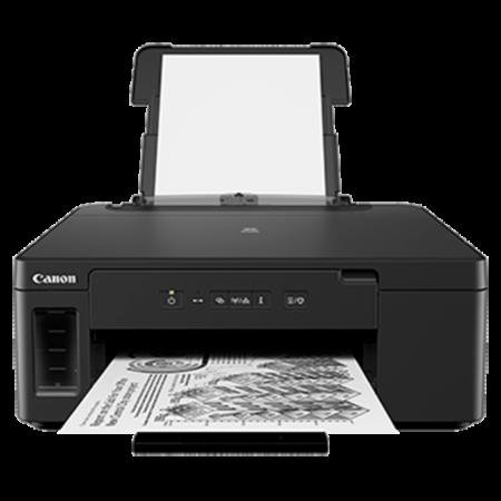 Máy in phun trắng đen Canon Pixma GM2070 (In đảo mặt + WiFi)
