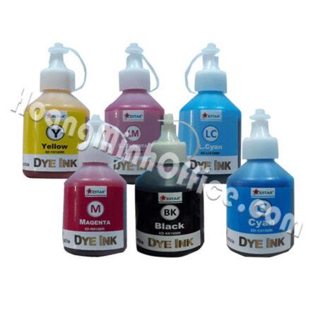 Bộ mực nước 6 màu cho máy in phun Epson (100ml)