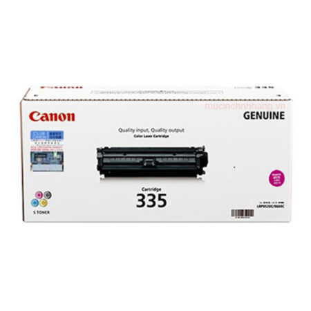 Hộp mực màu Canon 335M (đỏ) – Cho máy in Canon LBP 841Cdn/ 843Cx